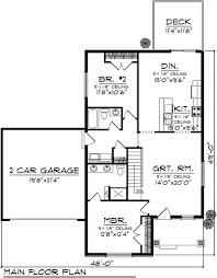 Bedroom Ranch House Plans With Sun Room   Free Online Image        Bedroom Bath House Plan House Plans Bedroom Home Floor Plans on bedroom