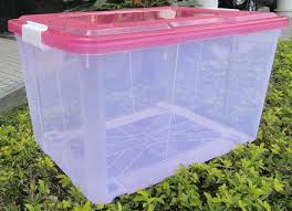 6L/15L/<b>30L</b>/50L/60L/80L/100L <b>Transparent</b> plastic <b>storage box</b> / with ...
