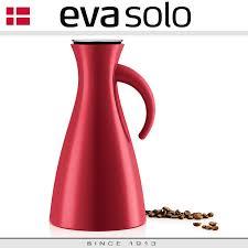<b>Кувшин</b>-термос VACUUM JUG глянцевый красный, <b>1 л</b>, <b>Eva</b> Solo ...