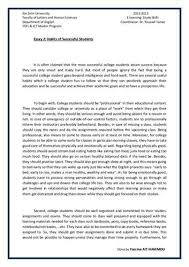 successful student essay qualities related        tips for a successful student application essay by aihaozhe