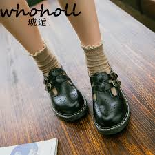 <b>WHOHOLL</b> Women Flats British Style <b>Oxford Shoes</b> Women Autumn ...