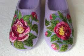 Домашние валяные <b>тапки</b>, 100% шерсть, валяная <b>обувь</b> ...