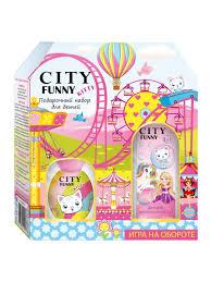 <b>Набор City Funny</b> Kitty new ДВ 30 мл + шампунь-пена 2в1 <b>City</b> ...