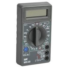 <b>Мультиметр</b> цифровой <b>IEK Universal M838</b> в Москве – купить по ...