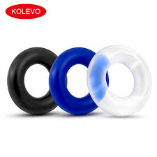 3 PCS/SET Soft Rubber Cock Rings For <b>Time Delay Condoms</b> For ...