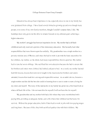 college essay examples about yourself template college essay examples about yourself