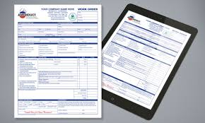 graphics hvac duct cleaning work order and invoice fillable pdf form eform acrobat forms