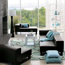 brown couch living room ideas turquoise living room design ideas with brown leather sofa and blue couches living rooms minimalist