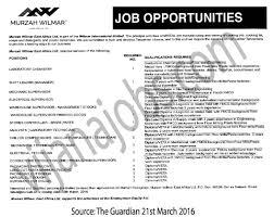laboratory chemistry shift leader manager mechanic supervisor job description