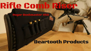 Rifle Comb Riser | Ruger Bushmaster 450 - YouTube
