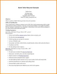 resume objective for a bank job normal bmi chart resume objective for a bank job bank teller resume example page 1 jpg