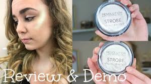 <b>Makeup Revolution STROBE</b> Highlighters: Review & Demo ...