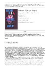 nietzsche essays morality << college paper academic service nietzsche essays morality