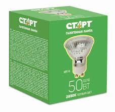 <b>Лампа галогенная Старт</b> GU10 MR16 220V 50W - купить с ...