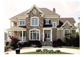 Superb New American House Plans   French Country House Plans With    Superb New American House Plans   French Country House Plans With Porches