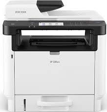 <b>SP</b> 330SFN Black and White Laser Multifunction Printer   <b>Ricoh</b> USA