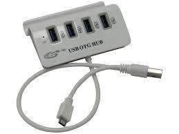 Хаб <b>USB KS is</b> OTG <b>MicroUSB</b> M Grey - ElfaBrest