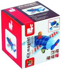 <b>Магнитный конструктор Janod</b> Kit Magnet 05205 Самолет ...