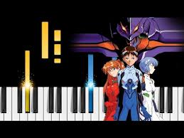 A Cruel Angel s Thesis a cappella   YouTube Gaming Pinterest Evangelion  anime