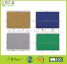 pin board for office. office usage customized size bulletin pin board fabric soft for
