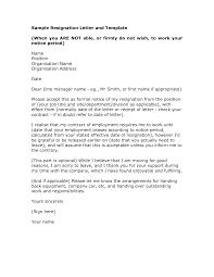 sample resignation letter resignation template resignation letter resignation letter write a letter of resignation sample template letter of resignation template pdf letter of