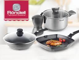 Скидка до 35% на посуду <b>RONDELL</b> коллекции <b>Escurion Grey</b>