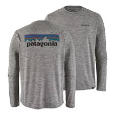 <b>Футболка Patagonia Long-Sleeved Capilene</b> Cool Daily Graphic ...