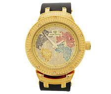 super techno watch super techno mens diamond watch 0 10 ct tw m6255