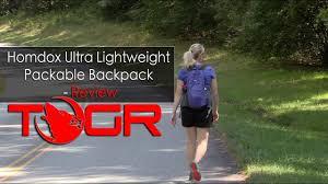 Light and Functional! - Homdox <b>Ultra Lightweight Packable Backpack</b>