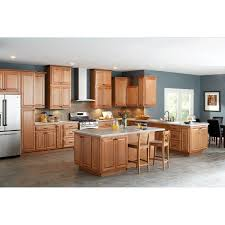 Hampton Bay Kitchen Cabinets Hampton Bay 18x84x24 In Cambria Pantry Cabinet In Harvest Kp1884