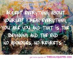 Inspirational Quotes About Accepting Yourself. QuotesGram