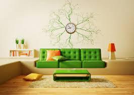 wall clock decor unique chair
