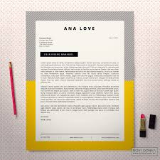 cover letter design template cover letter design