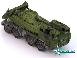 <b>Нордпласт</b> Военный тягач <b>Щит с</b> танком