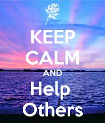 Image result for calm down and  help others