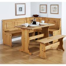 small dining bench: furniture tables for small kitchens with brown wooden nook bench throughout small kitchen tables with