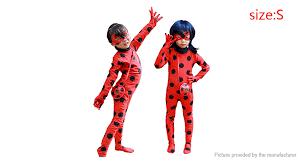 Miraculous Ladybug Girl <b>Cosplay Costume Halloween Christmas</b> ...