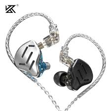 KZ ZSX <b>Metal Earphones</b> 5BA+1DD Hybrid technology 12 driver ...