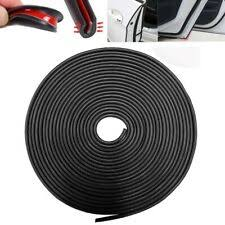 <b>Black 32Ft U Shape</b> Rubber Seal Car Door Edge Guard Molding ...