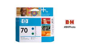 <b>HP 70</b> Blue & <b>Green</b> Printhead C9408A B&H Photo Video