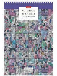 <b>Блокнот Hatber Color Pattern</b> A4 80 листов 80Б4В1сп_22045 ...