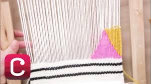 Weaving for Beginners Part 4: Add <b>Stripes</b> and <b>Geometric</b> Shapes ...