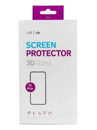 Купить <b>Защитное стекло</b> для экрана <b>VLP для</b> Apple iPhone 11 Pro ...