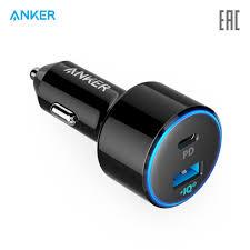 <b>Автомобильное зарядное устройство Anker</b> PowerDrive II PD with ...