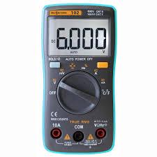Digital Multimeter RM219 <b>True</b>-<b>RMS 19999 Counts</b> Multimetro Auto ...