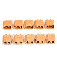 <b>Lots 5 Pairs 10Pcs</b> XT60 Male+ <b>Female</b> Bullet Connectors Plugs for ...