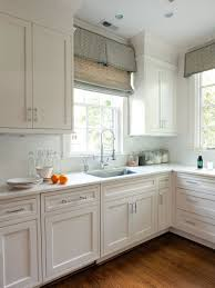 Large Kitchen Window Treatment Black And White Window Treatments Large Window Treatments And