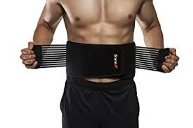 BraceUP Stabilizing <b>Lumbar</b> Lower <b>Back Brace Support</b> Belt Dual
