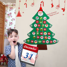 <b>OurWarm</b> New Year Decoration Date 31th Tree Advent Calendars ...