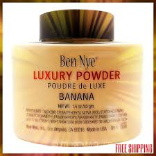 Ben Nye <b>Luxury Banana Powder</b> 1.5 oz <b>Bottle</b> Face Makeup - NEW ...